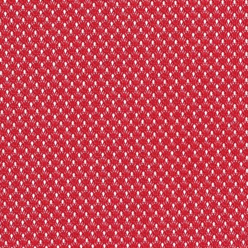 Red Micro Mesh (C) Knit Fabric