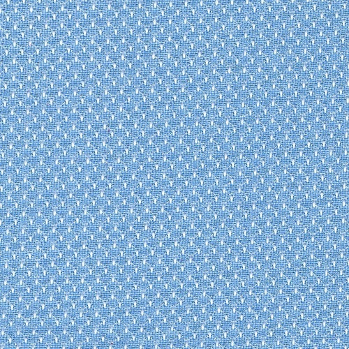 Blue Micro Mesh Knit Fabric