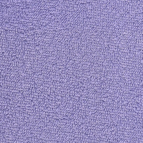 Lilac Stretch Terry Knit Fabric