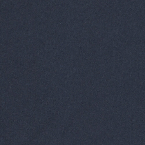 Navy Dark Polyester/Cotton Poplin 6 Ounce Woven Fabric