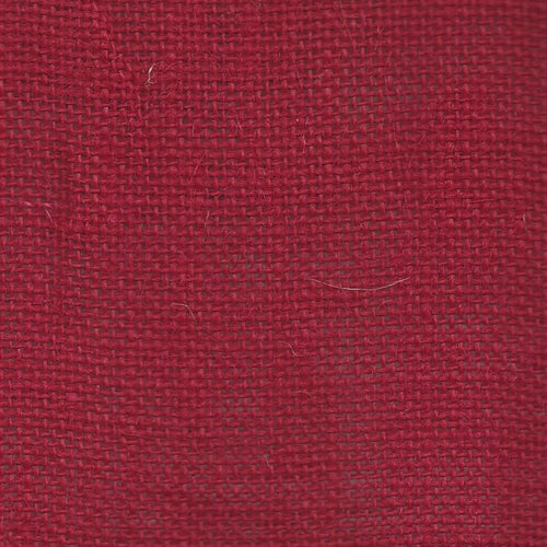 Jute Burlap Red Woven Fabric (Sold by the Roll) - SKU MYL.1787B
