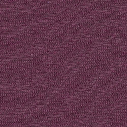 Magenta Mini Thermal Knit Fabric