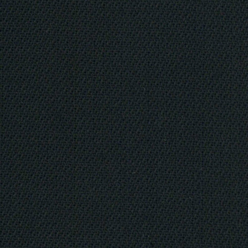 Black #D Plain Weave Wool Suiting Woven Fabric - SKU 4014A