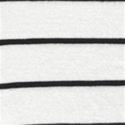Cream/Black Organic Cotton/Modal Stripe Tubular Jersey Knit Fabric