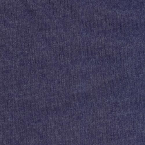 Indigo Heather Jersey Polyester/Rayon/Lycra Knit Fabric