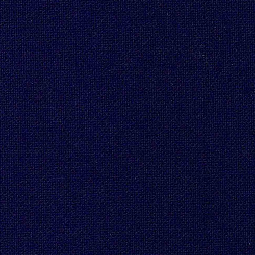Navy Poly/Wool Plainweave Suiting Woven Fabric - SKU 4375