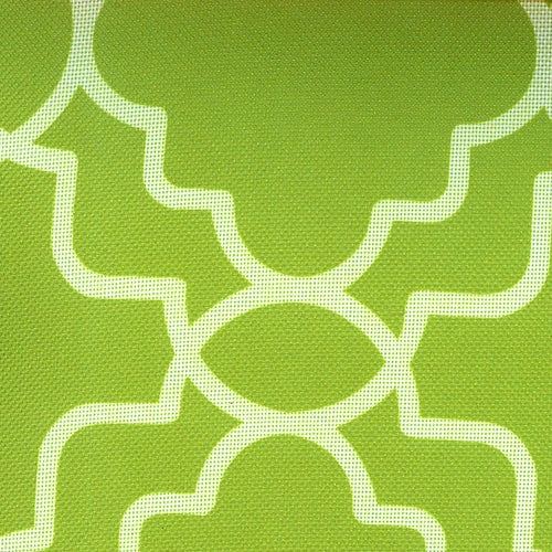 Tile Lime ProTuff Waterproof Print Canvas Woven Fabric