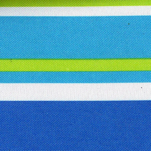 Pro Tuff Awning Stripe Lagoon Waterproof Print Canvas Woven Fabric
