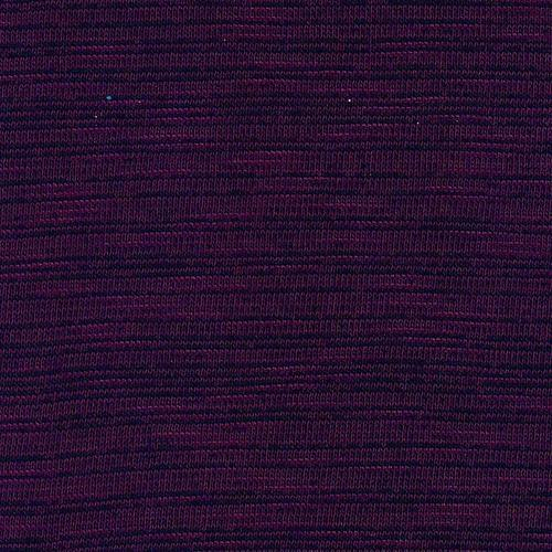 Wine Crossdye Slub Jersey Knit Fabric