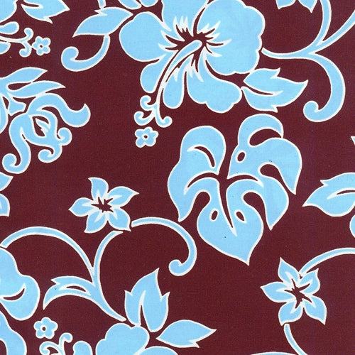 Brown Pond Waterproof Floral Polyester Print Woven