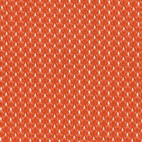 Orange Micro Mesh (B) Knit Fabric