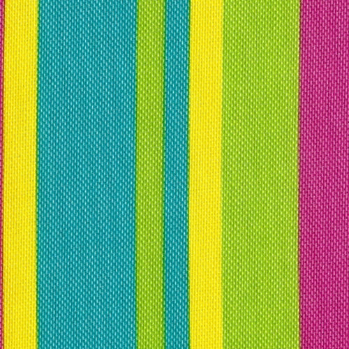 Hot Pink ProTuff Stripe Outdoor Canvas Woven Fabric