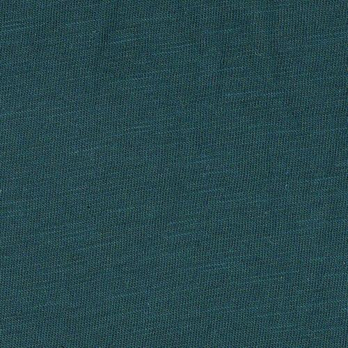 Teal Slub Jersey Knit Fabric 50 Yard Lot