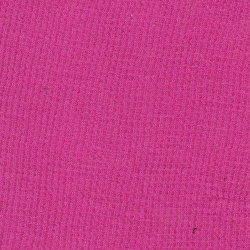 Fuchsia Mini Thermal Knit Fabric