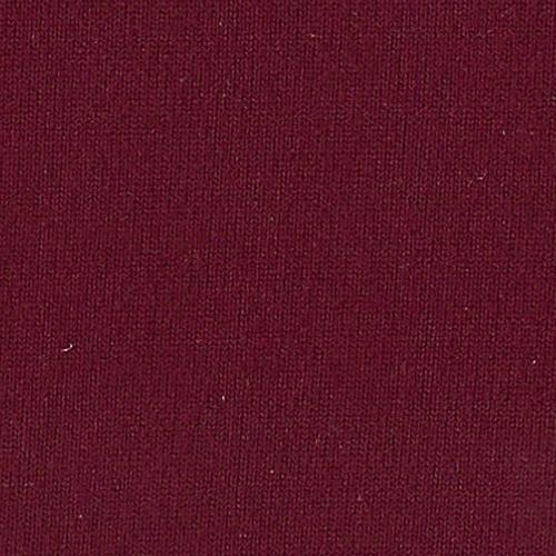 Burgundy Own Skin Double Brushed Poly Lycra Jersey Knit Fabric