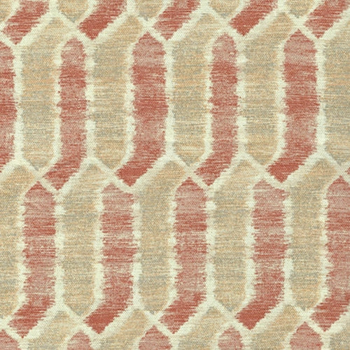 Sand & Rust Home Decorative Upholstery Print Woven Fabric