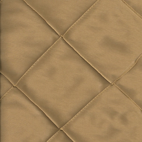 Gold 4 Stitched Diamond Tafetta Woven Fabric""