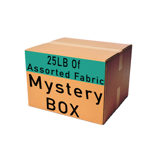 25 Pounds of Assorted Fabric Mystery Box