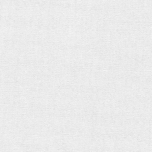 White Polyester/Cotton Poplin Woven Fabric