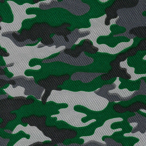 Hunter Dimple Mesh Camouflage Knit Fabric