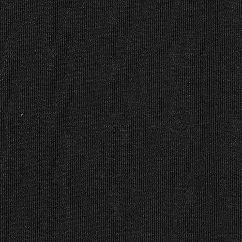 Black Polyester/Lycra Jersey Knit Fabric