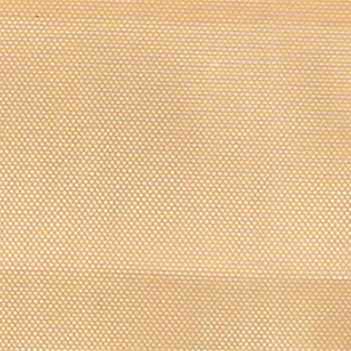 Light Gold Mirror Organza Woven Fabric