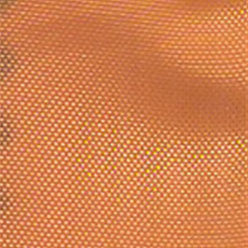 Dark Orange Mirror Organza Woven Fabric