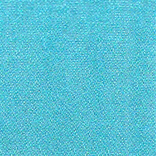 Dark Aqua Mirror Organza Woven Fabric