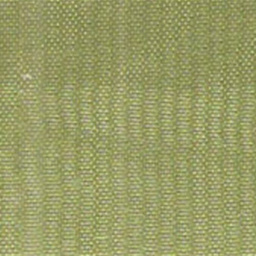 Bamboo Green Mirror Organza Woven Fabric