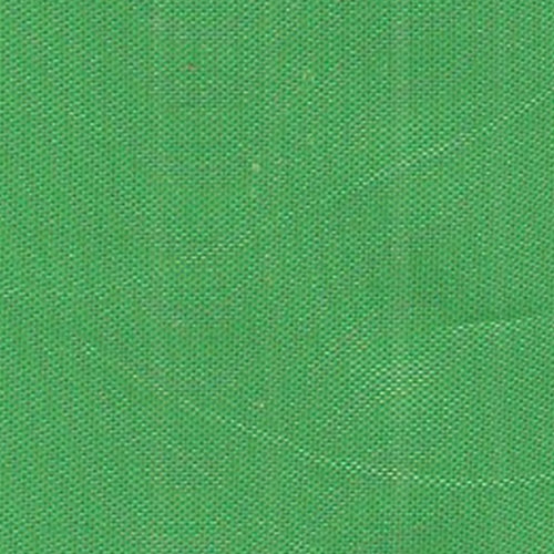 Flag Green Mirror Organza Woven Fabric
