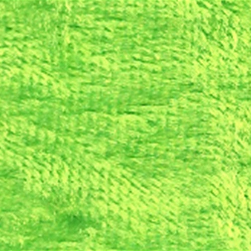 Lime Panne Velour Knit Fabric