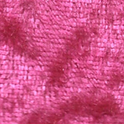 Fuschia Panne Velour Knit Fabric