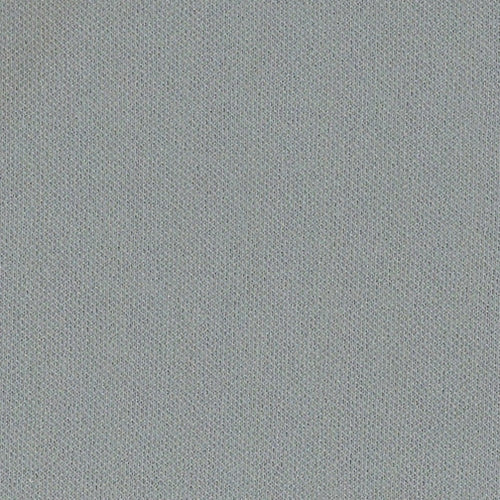 Dark Grey Swiss Pique Double Knit Fabric