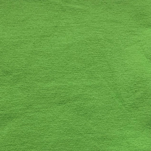 Lime 14oz. Cotton/Lycra Jersey Knit Fabric - SKU 4952