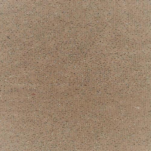 Cappuccino #S-A Sequin Mesh Polyester Knit Fabric
