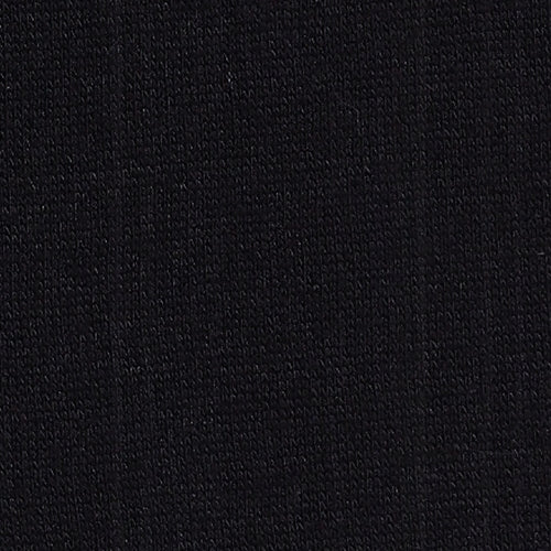 Black 14.5oz Polyester/Cotton Sweatshirt Knit Fabric