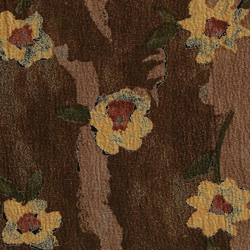 Brown Forest  Challi Print Woven Fabric - SKU 4520A