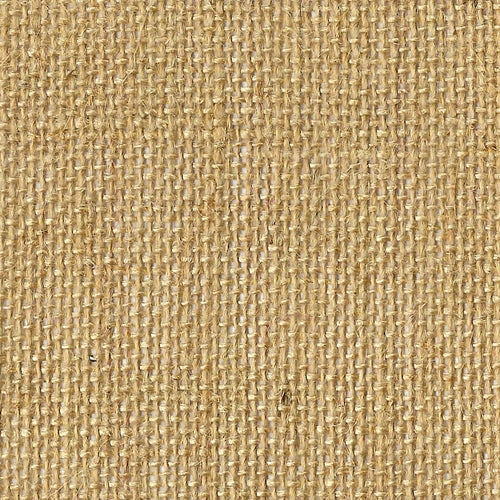 Natural Jute Burlap Woven Fabric (Sold by the Roll) - SKU MYL.1787A
