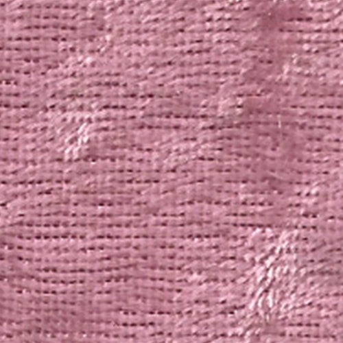 Dark Rose Panne Velour Knit Fabric