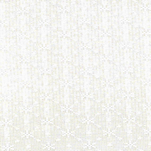 Hachi White Stretch Lace Knit Fabric