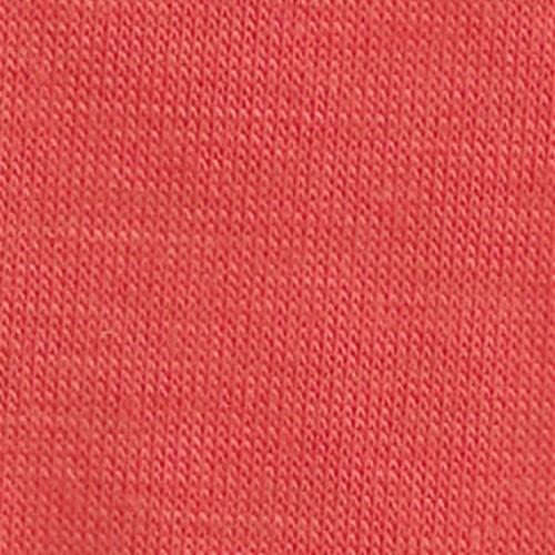 Coral Polyester/ Rayon/Lycra Knit Jersey Fabric