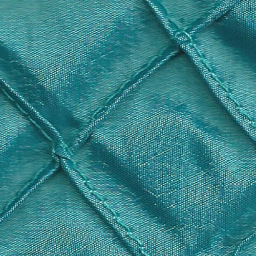 Aqua 1 Stitched Diamond Tafetta Woven Fabric""