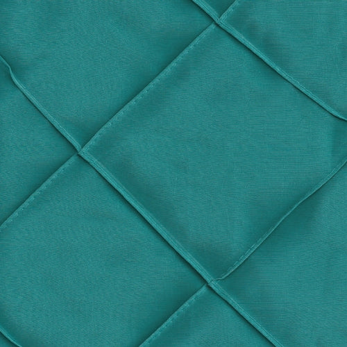Aqua 4 Stitched Diamond Tafetta Woven Fabric""
