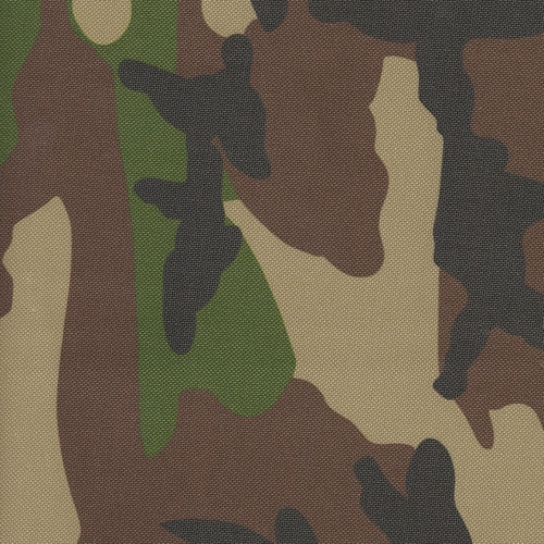 Pro Tuff WaterProof 20 Ounce Army Camouflage Canvas Woven Fabric
