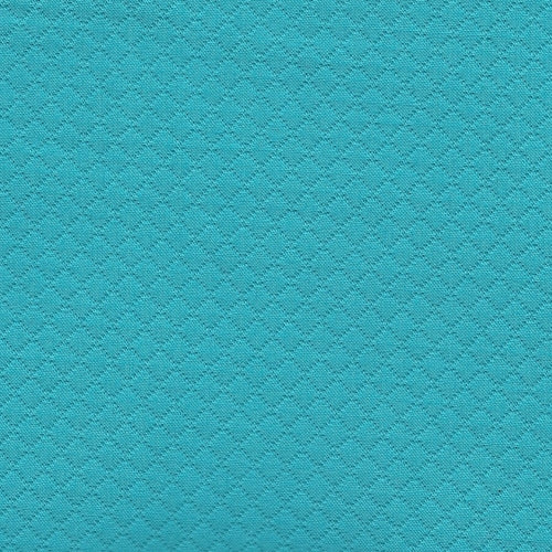 Aqua Diamond Texture Suiting Woven Fabric