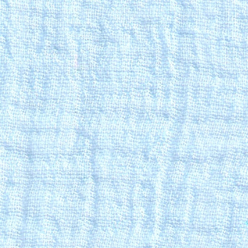 Baby Blue (A) Gauze Woven Fabric