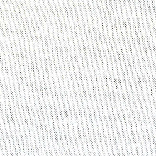 Bleach Polyester/Cotton Jersey Knit Fabric