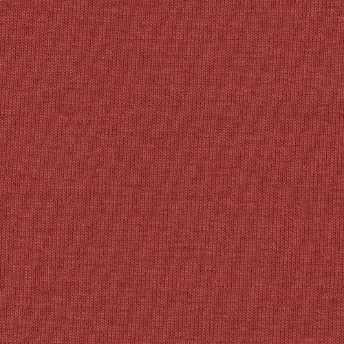 Burnt Orange #S/N-O  1x1 Cotton Rib Knit Fabric - SKU 4951
