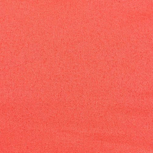 Coral Bridal Satin Woven Fabric
