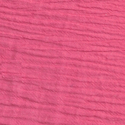 Coral Gauze (B) Woven Fabric